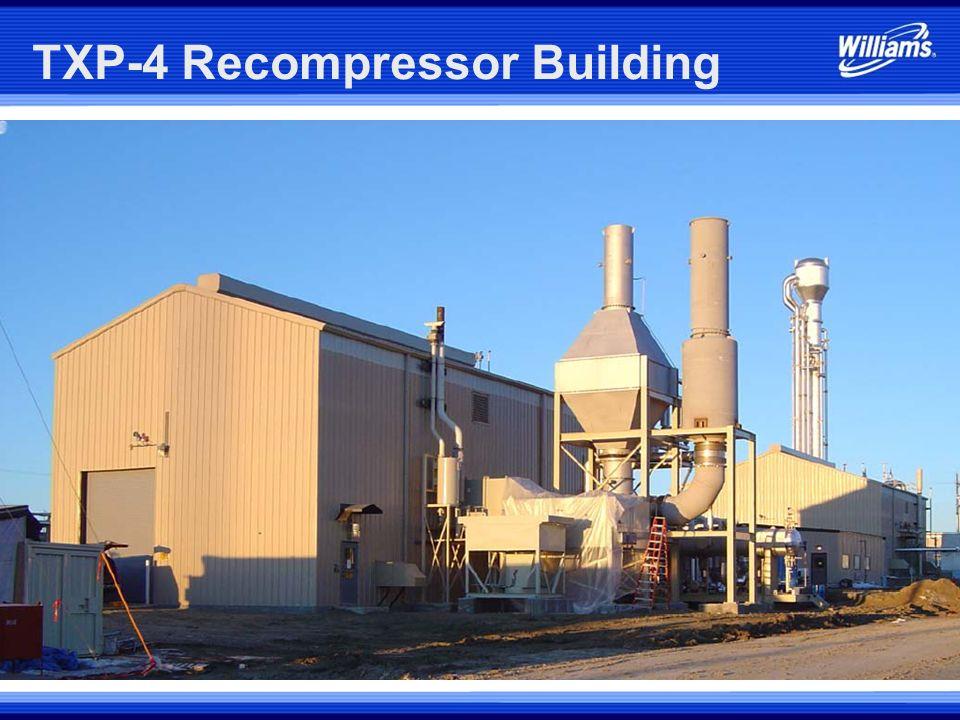 TXP-4 Recompressor Building