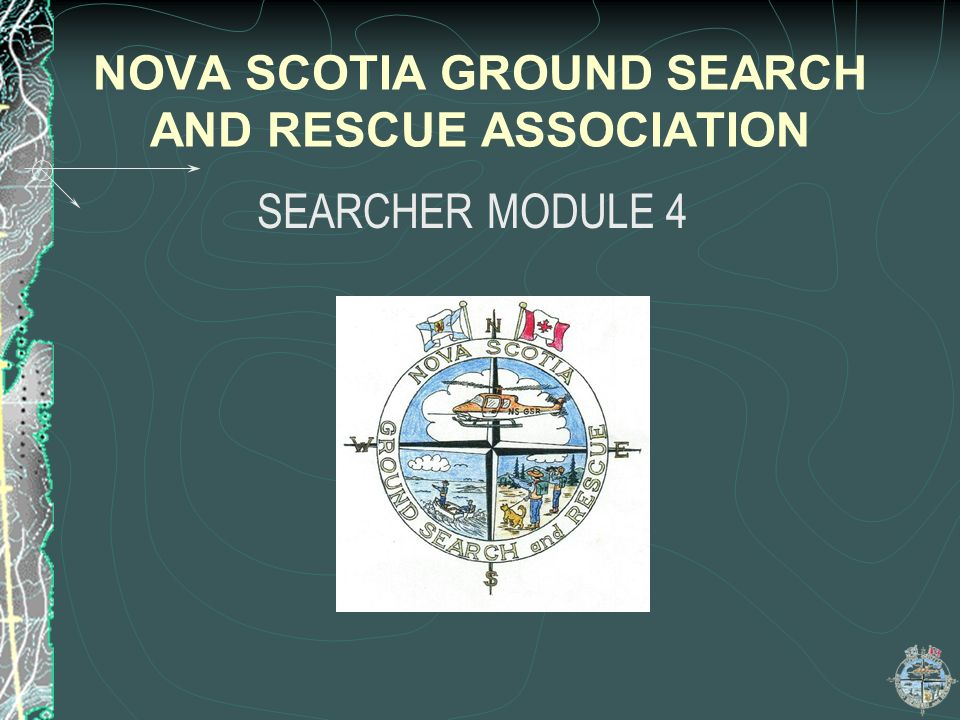 NOVA SCOTIA GROUND SEARCH AND RESCUE ASSOCIATION
