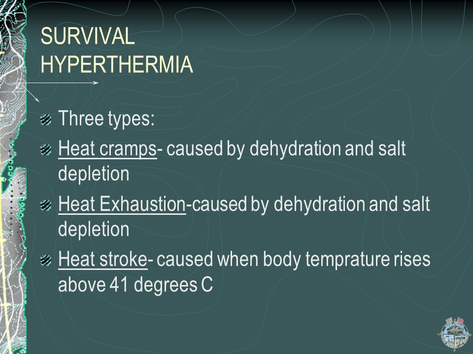 SURVIVAL HYPERTHERMIA
