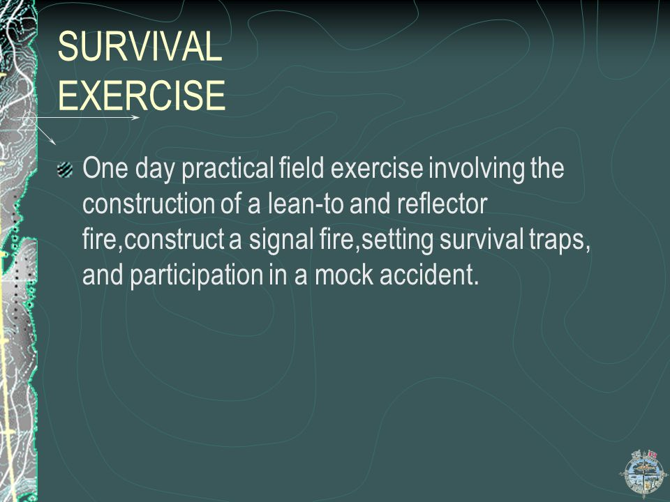 SURVIVAL EXERCISE
