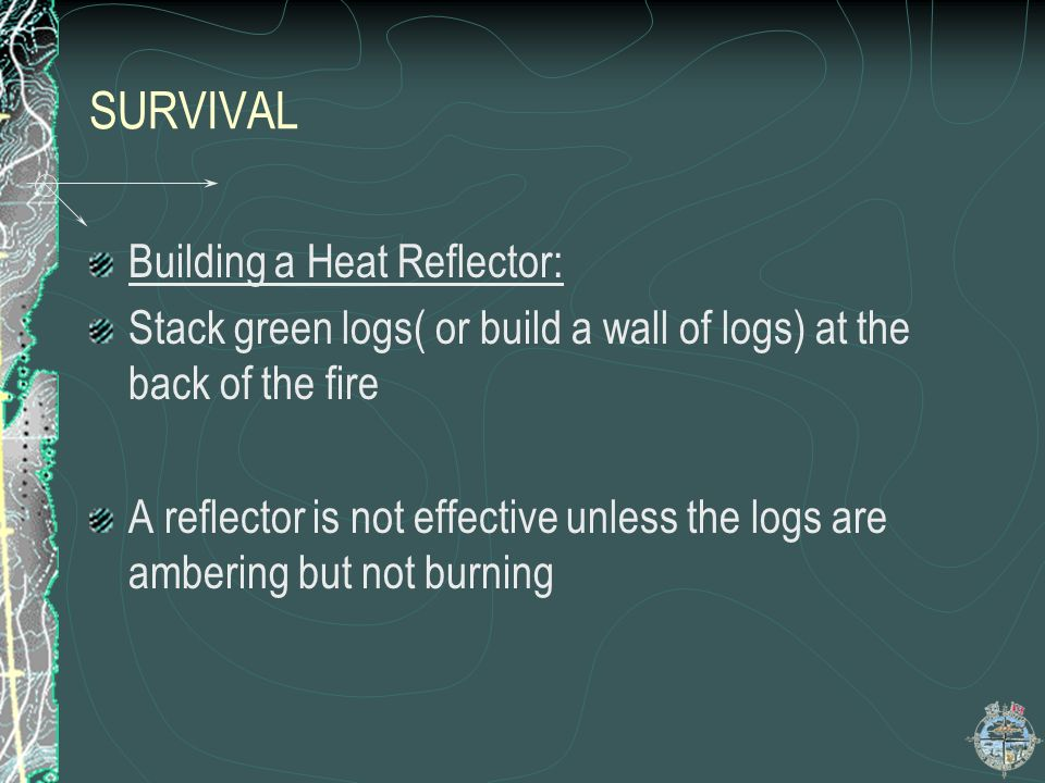 SURVIVAL Building a Heat Reflector: