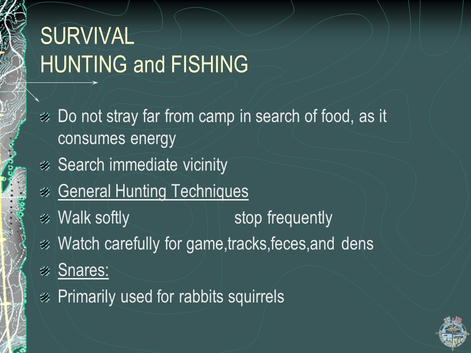 SURVIVAL HUNTING and FISHING