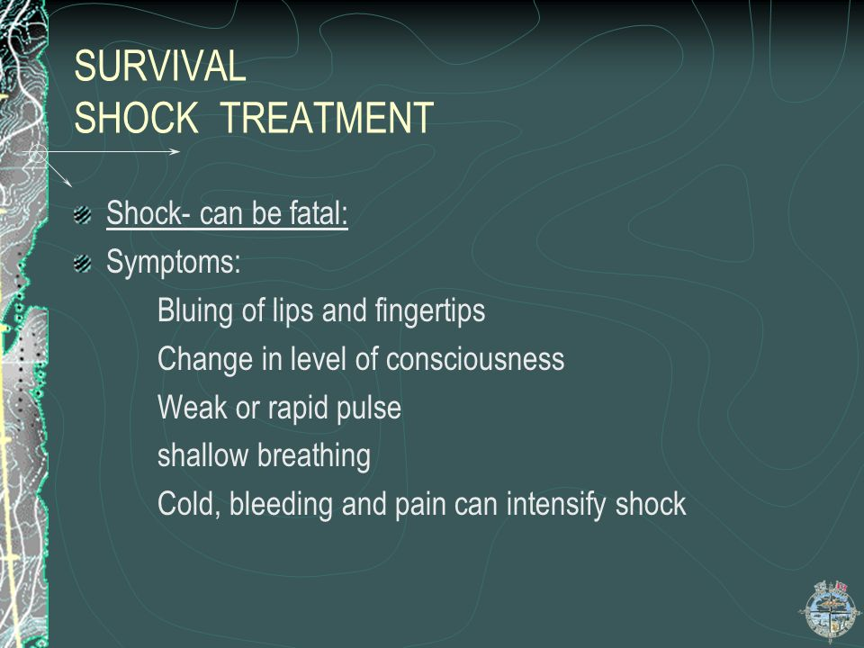 SURVIVAL SHOCK TREATMENT