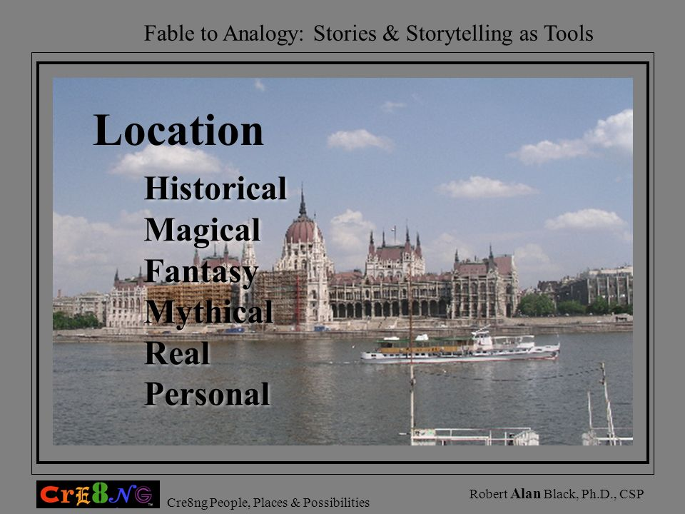 Location Historical Magical Fantasy Mythical Real Personal