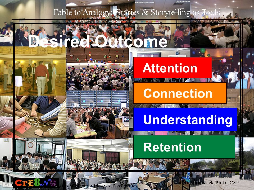 Desired Outcome Attention Connection Understanding Retention