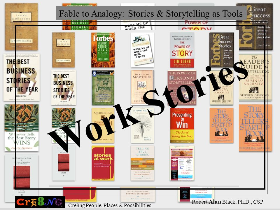 Fable to Analogy: Stories & Storytelling as Tools