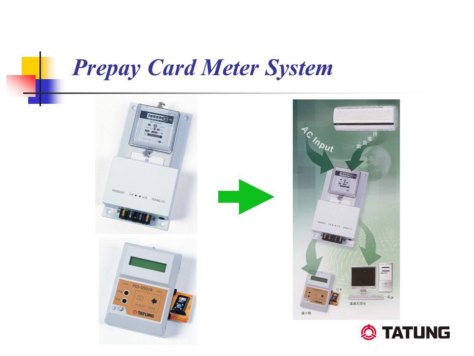 Prepay Card Meter System