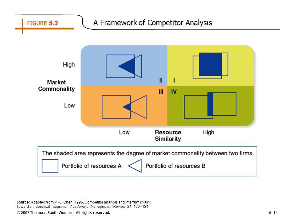 FIGURE 5.3 A Framework of Competitor Analysis