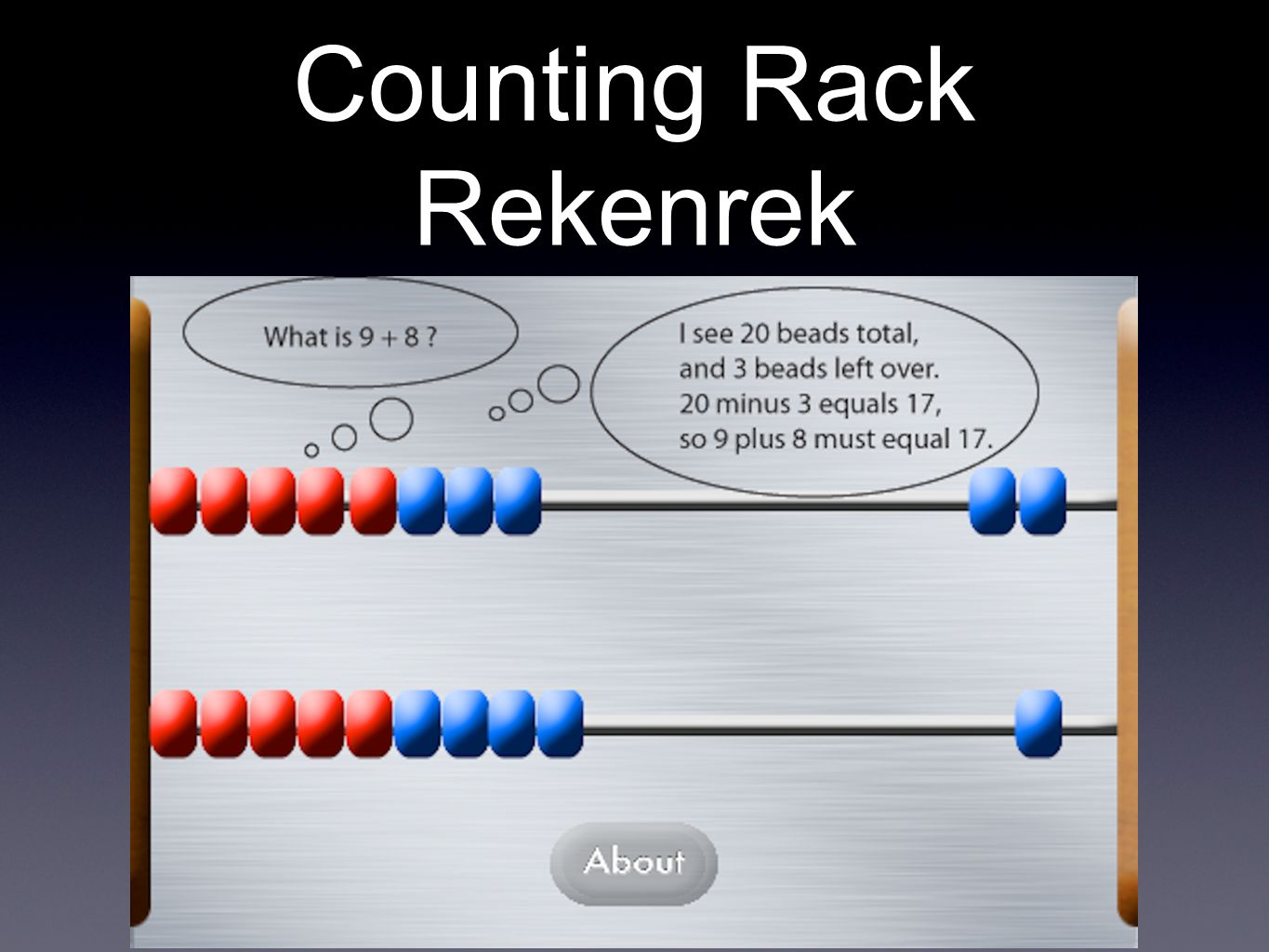Counting Rack Rekenrek