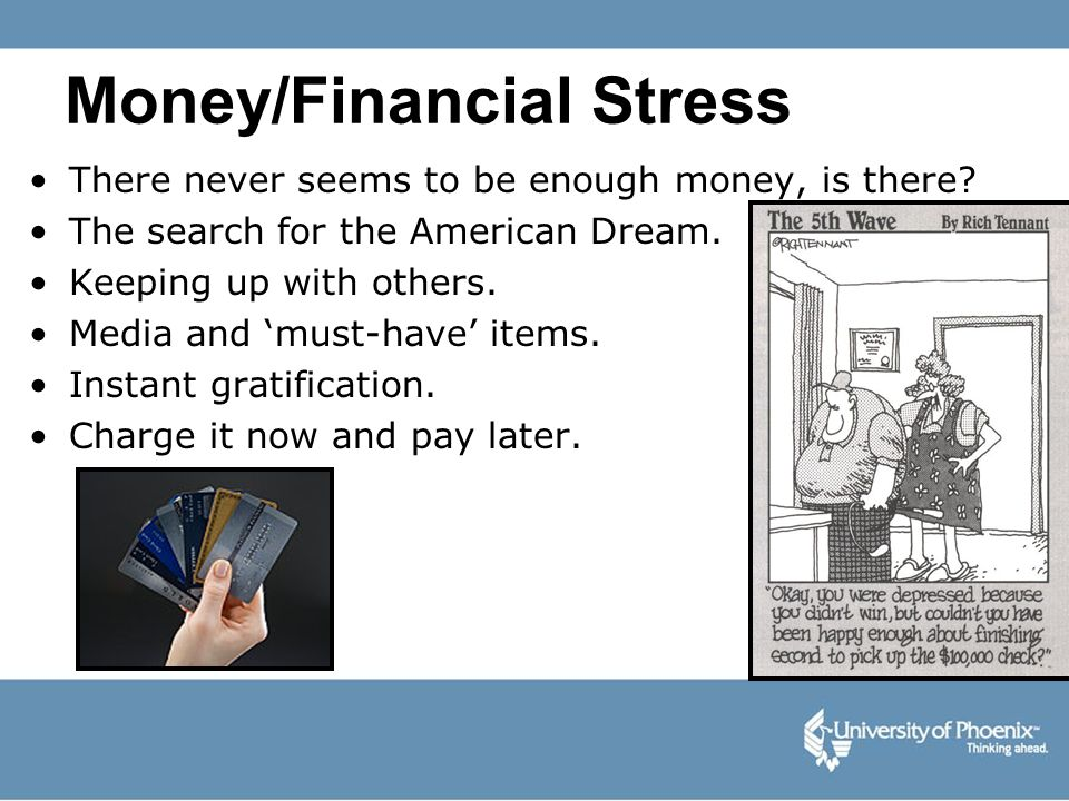 Money/Financial Stress