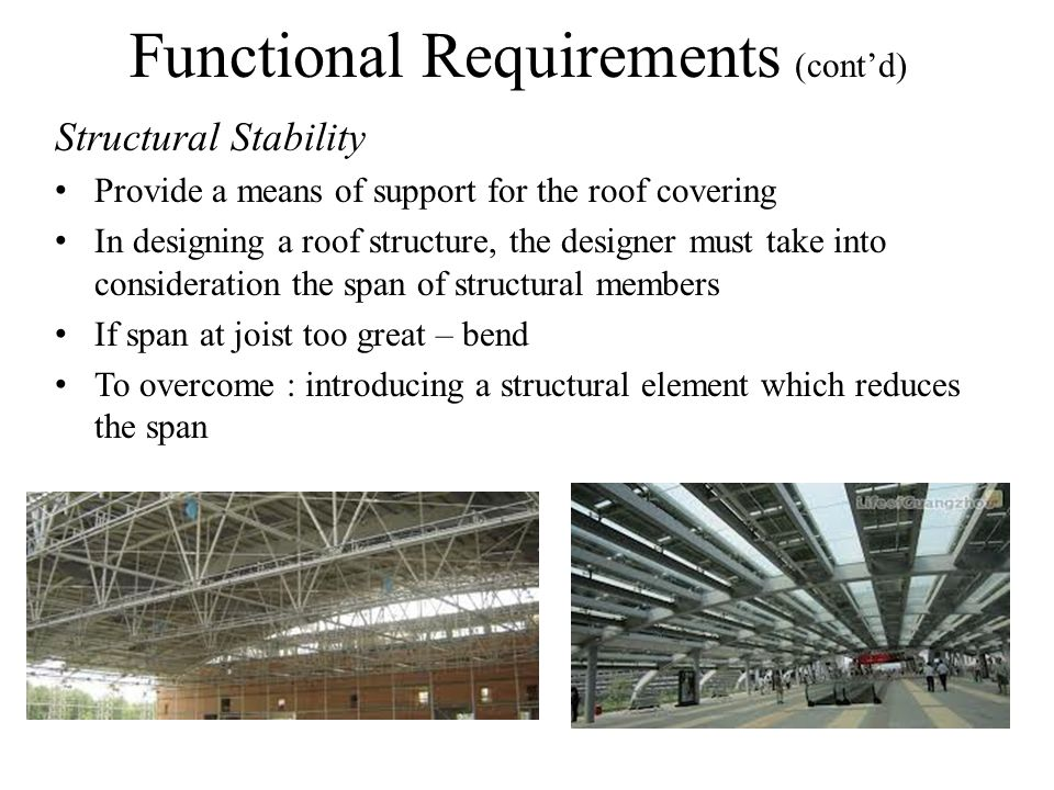 Functional Requirements (cont'd)