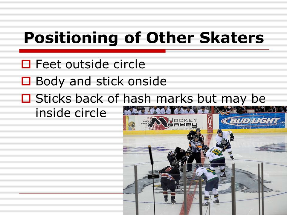 Positioning of Other Skaters