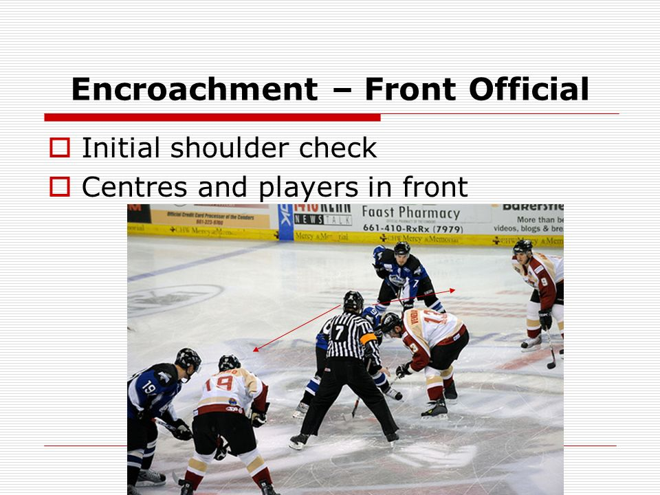 Encroachment – Front Official