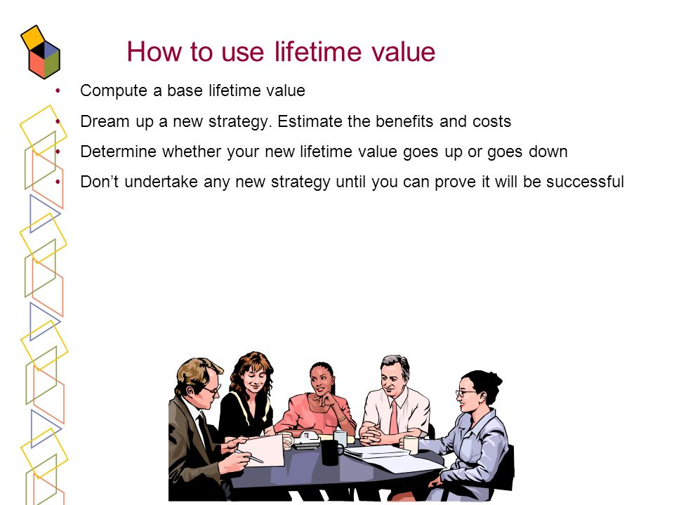 How to use lifetime value