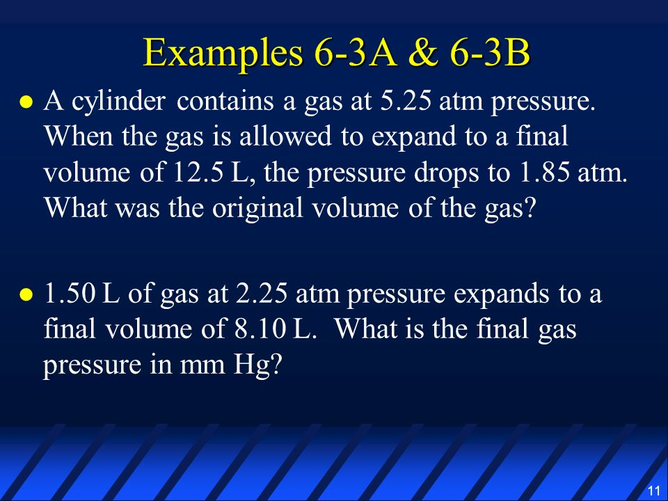 Examples 6-3A & 6-3B