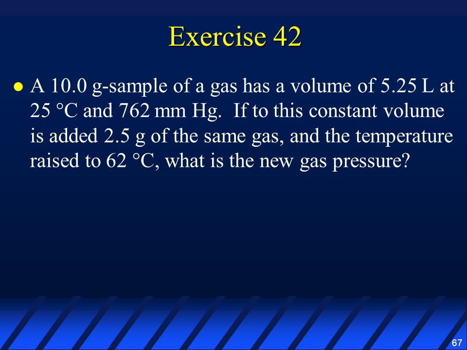 Exercise 42