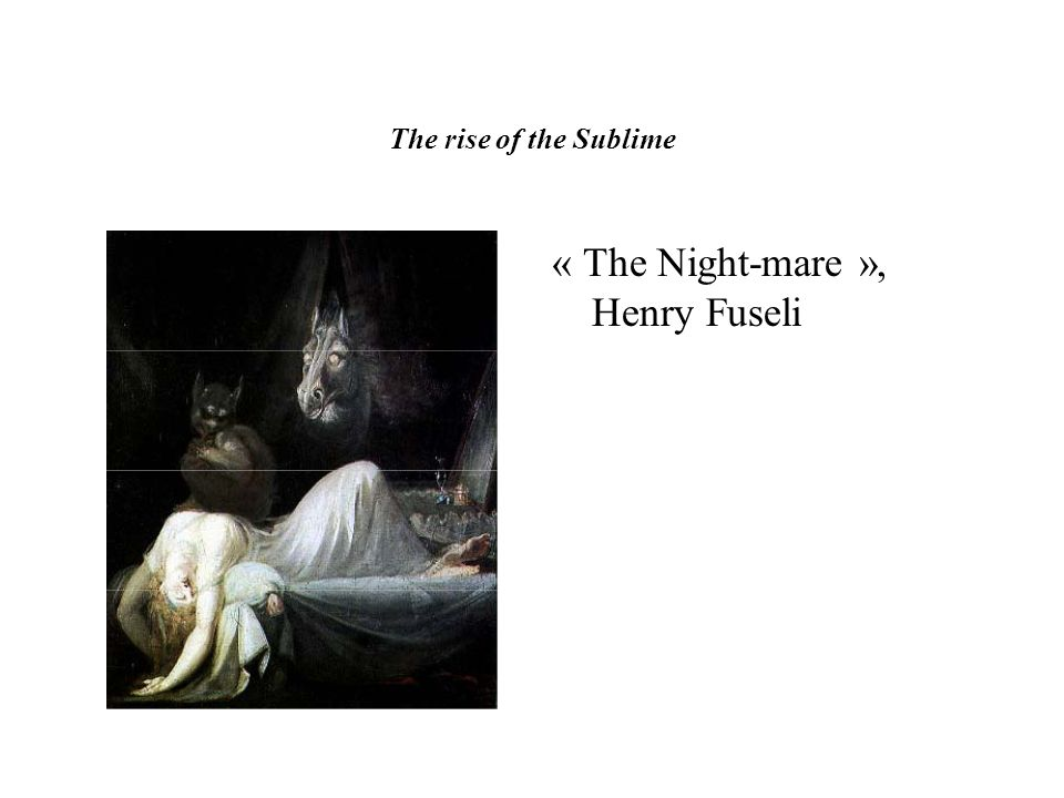 « The Night-mare », Henry Fuseli