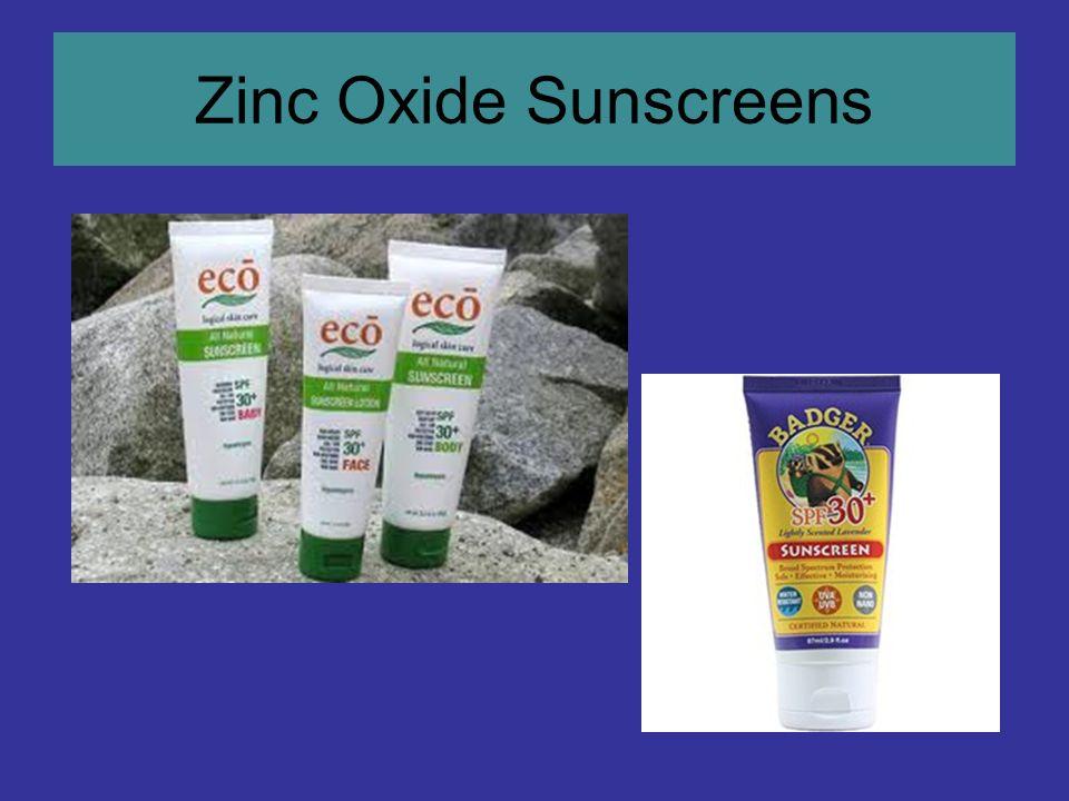 Zinc Oxide Sunscreens