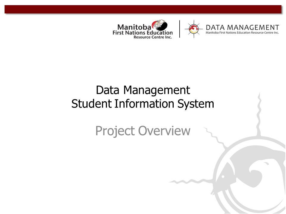 Data Management Student Information System