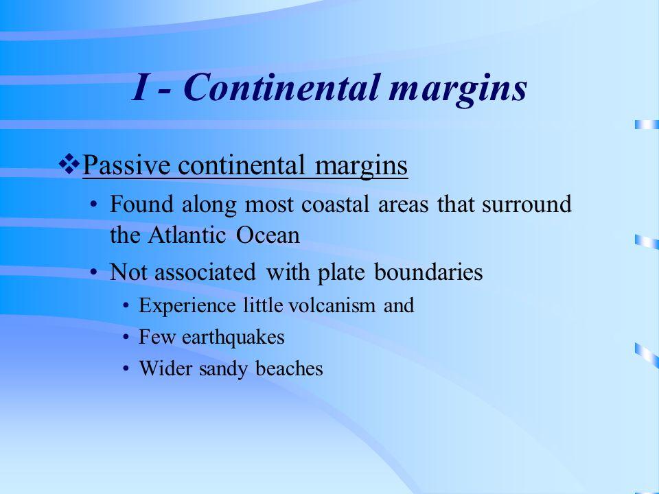 I - Continental margins