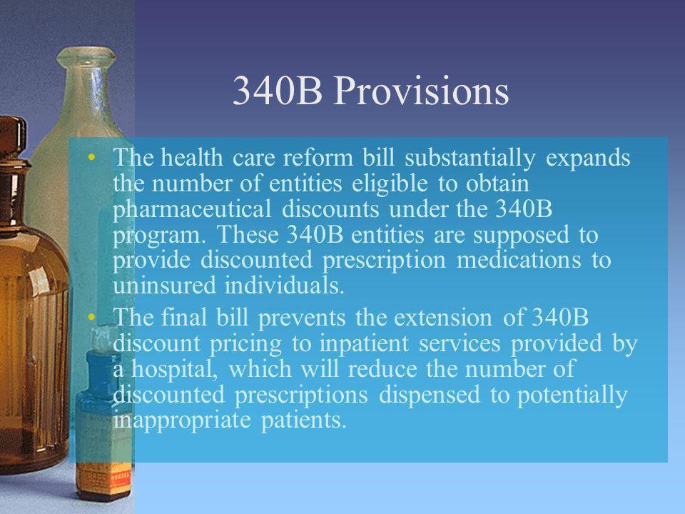 340B Provisions