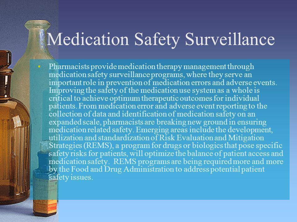 Medication Safety Surveillance