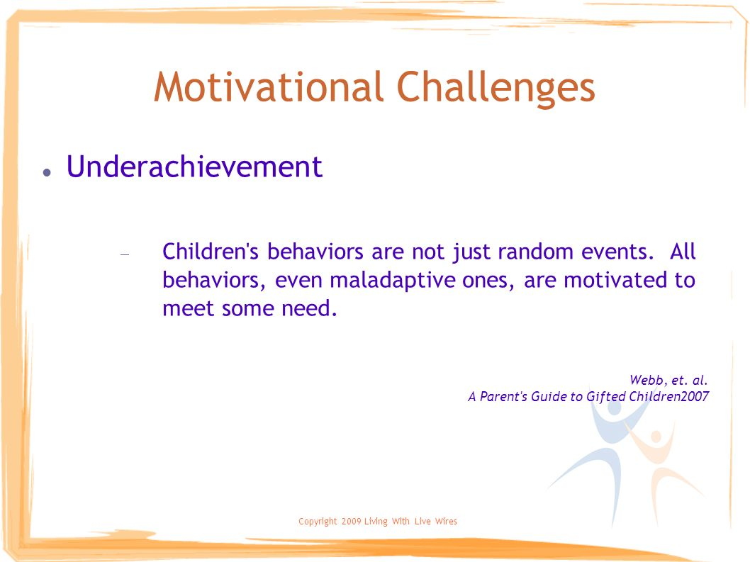 Motivational Challenges