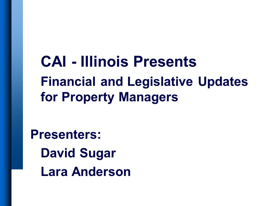 CAI - Illinois Presents
