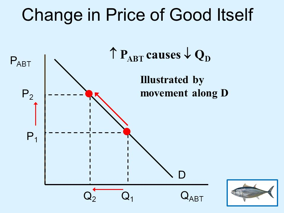 Change in Price of Good Itself