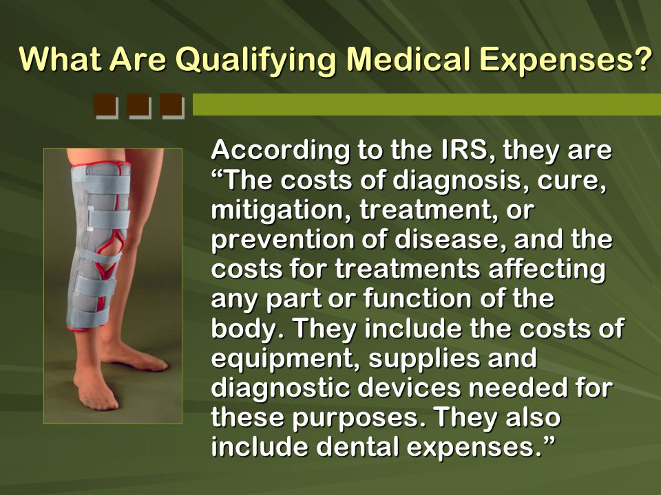 What Are Qualifying Medical Expenses