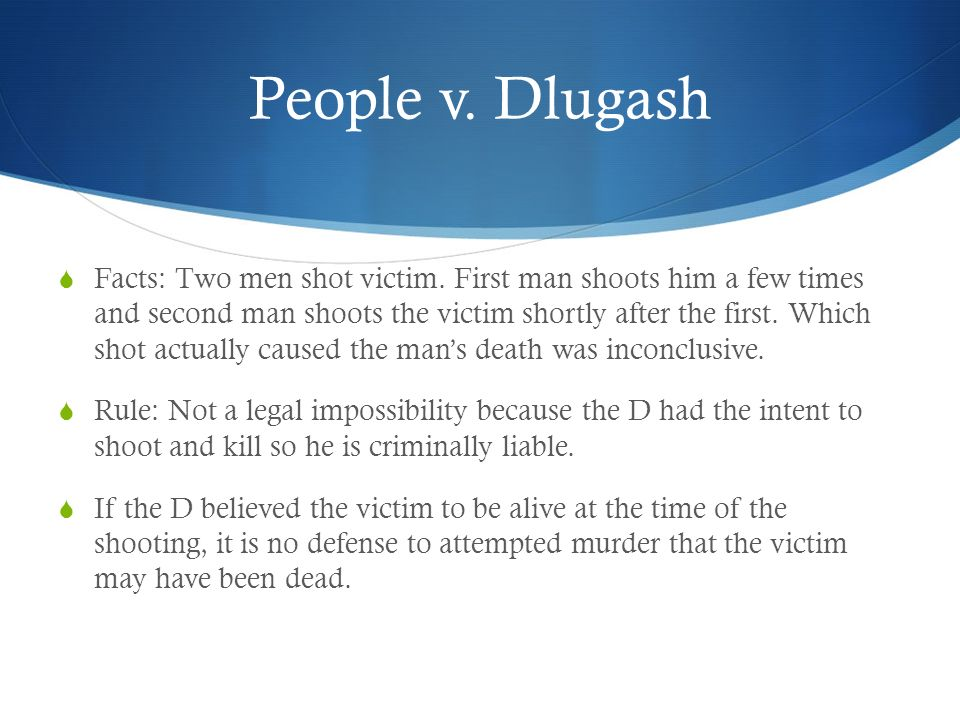 People v. Dlugash