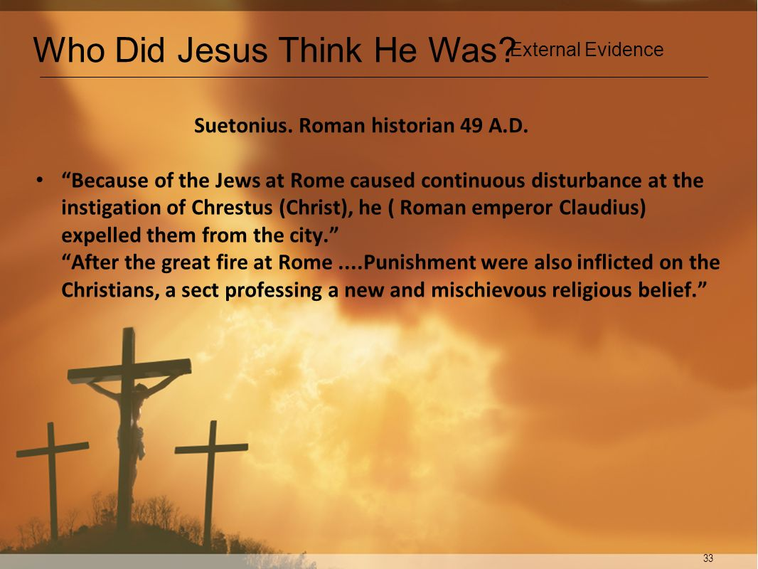 Suetonius. Roman historian 49 A.D.