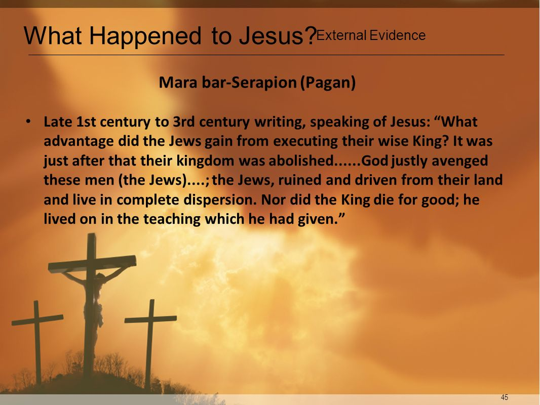 Mara bar-Serapion (Pagan)