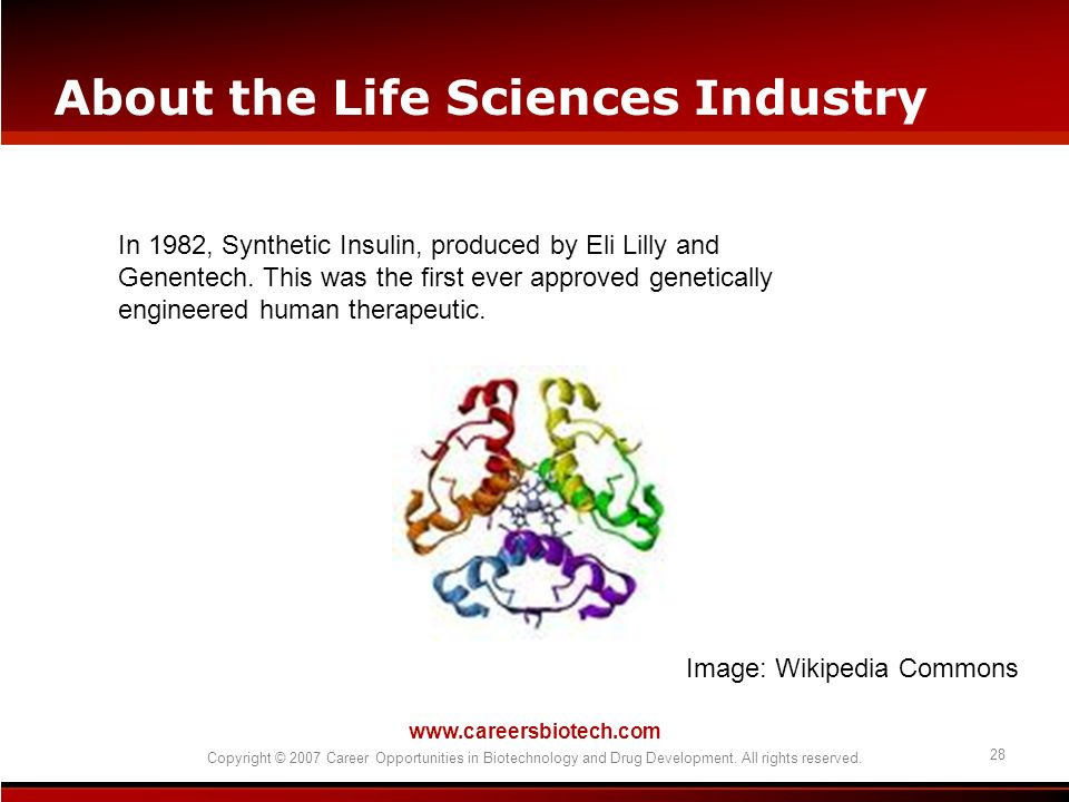About the Life Sciences Industry