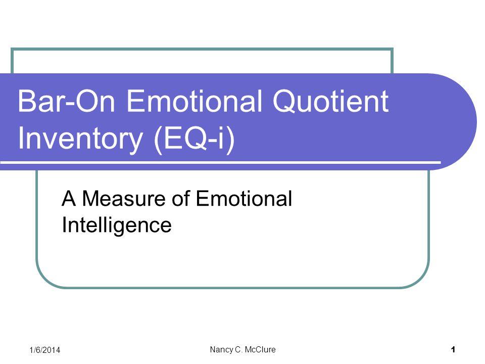Bar-On Emotional Quotient Inventory (EQ-i)