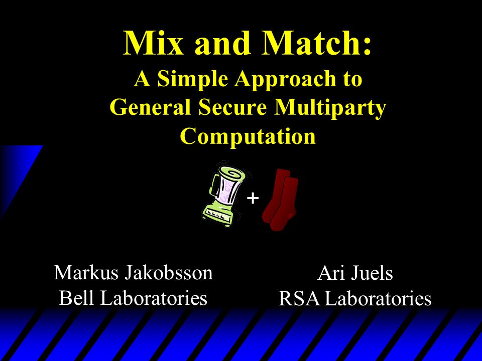 Mix and Match: A Simple Approach to General Secure Multiparty Computation