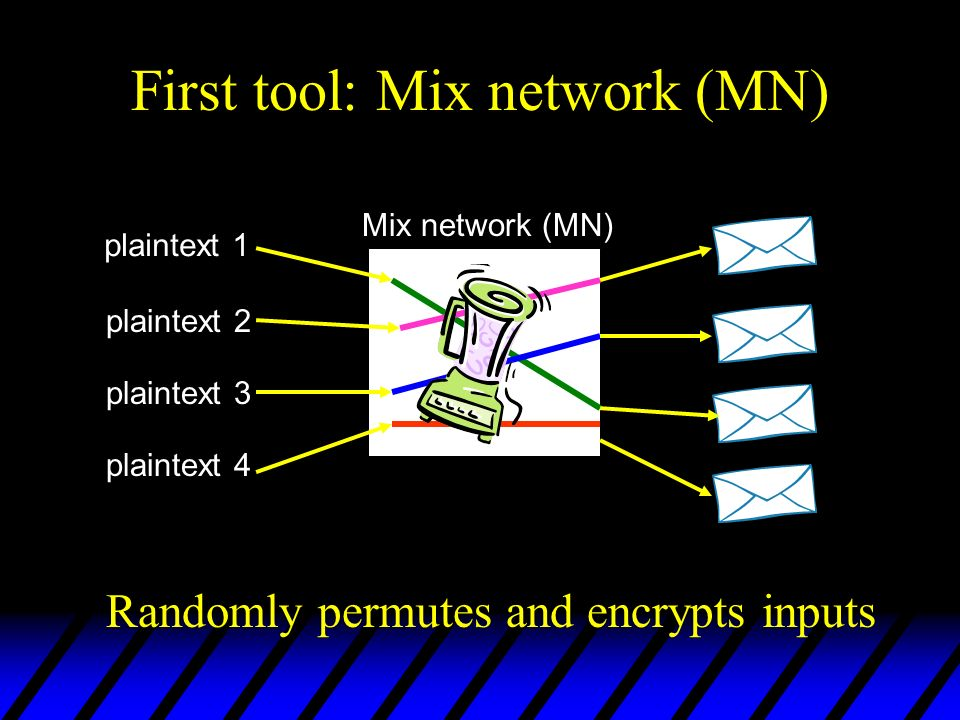 First tool: Mix network (MN)