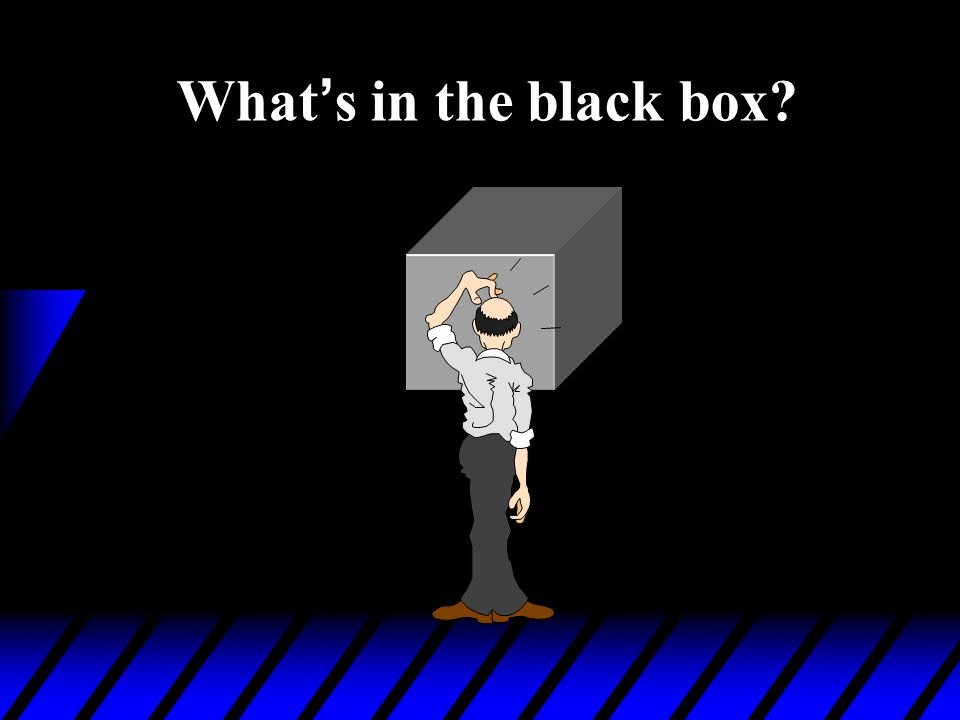 What's in the black box