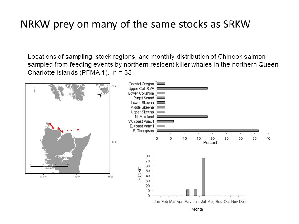 NRKW prey on many of the same stocks as SRKW