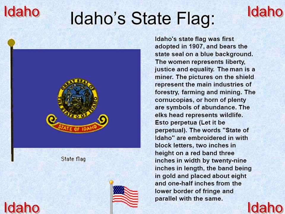 Idaho's State Flag: