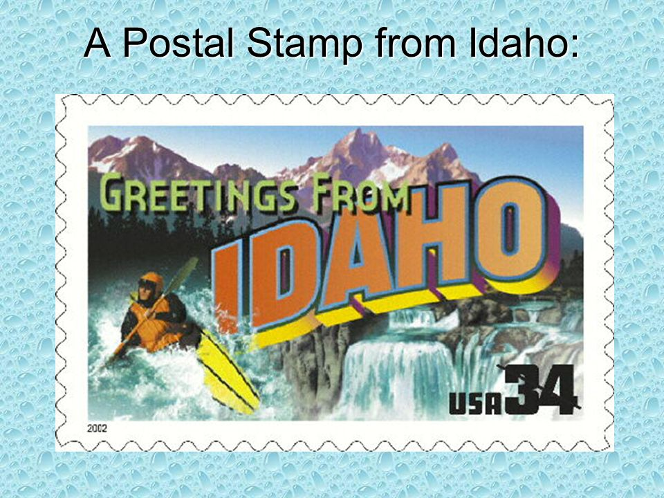 A Postal Stamp from Idaho: