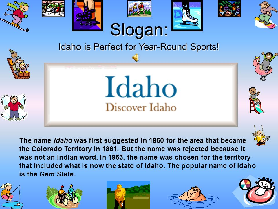 Idaho is Perfect for Year-Round Sports!