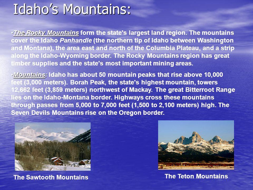 Idaho's Mountains: