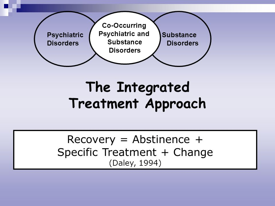 The Integrated Treatment Approach