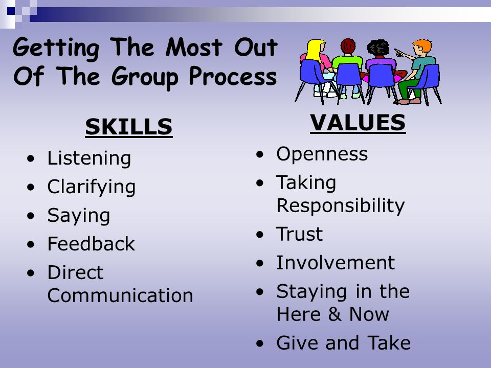 Getting The Most Out Of The Group Process