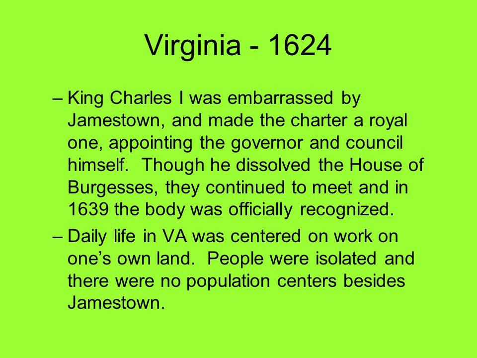 Virginia - 1624