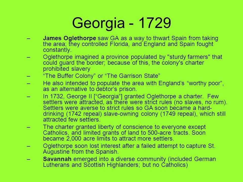 Georgia - 1729