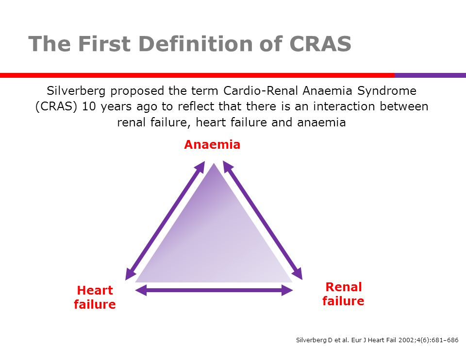 The First Definition of CRAS