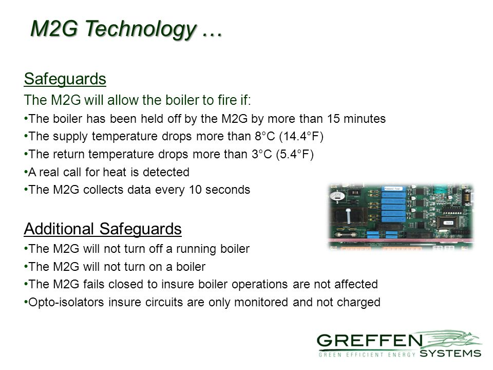 M2G Technology … Safeguards Additional Safeguards