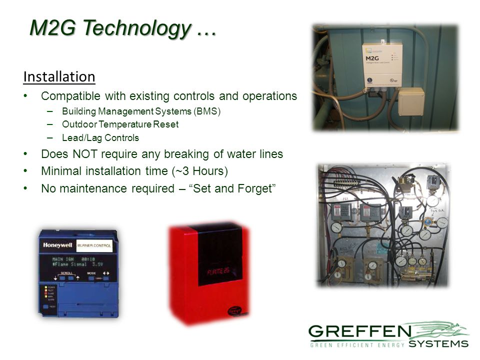M2G Technology … Installation